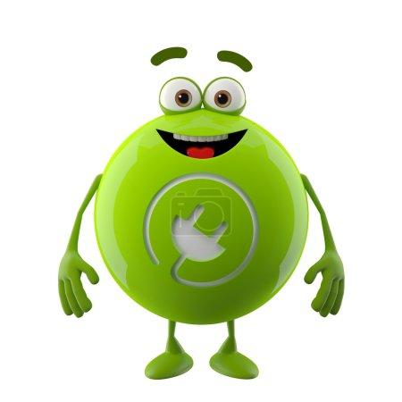 Ecology green icon
