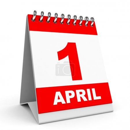 Calendar. 1 April.