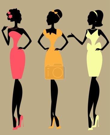Women, vintage fashion