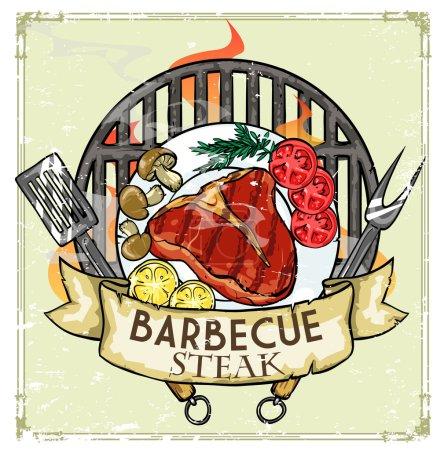 BBQ Grill logo design