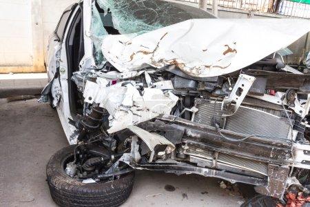 dommages causés par accident