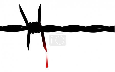 Blooded Barbed Wire