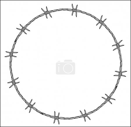 Barbed Wire Crown of Thorns