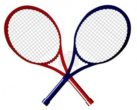 Crossed Rackets