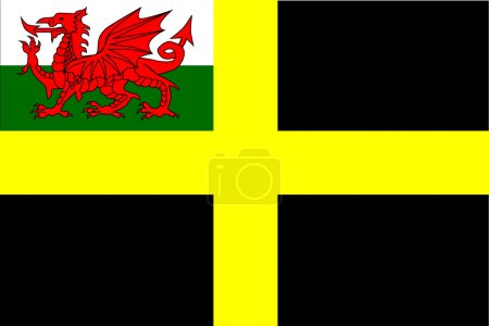 Flag of Saint David