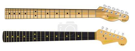 Single Coil Guitar Necks