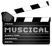 Musical Movie Clapperboard