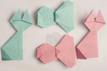 objets et animaux en origami