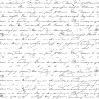 Vector seamless pattern with handwriting text in v...