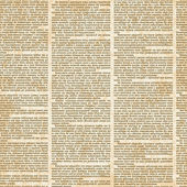 Vector seamless pattern with newspaper columns in vintage style Text in newspaper page unreadable