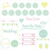 Cute wedding items for invitations