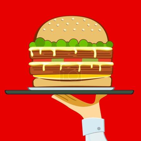 Food big...
