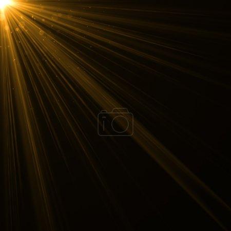 Photo pour Abstrait éclairage flare - image libre de droit