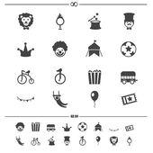 Circus Iconsvector eps10