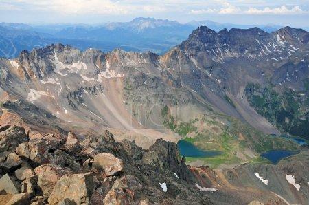 Photo pour Yankee Boy Basin, San Juan Range, Montagnes Rocheuses, Colorado - image libre de droit
