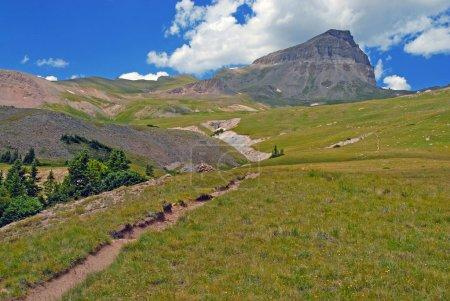 Photo pour Uncompahgre Peak, Colorado 14er dans les montagnes San Juan, Colorado Rockies - image libre de droit