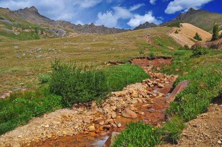 Photo pour Wetterhorn Peak, Montagnes San Juan, Rocheuses du Colorado - image libre de droit