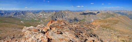 Photo pour Sawatch Range de Huron Peak, Montagnes Rocheuses, Colorado - image libre de droit