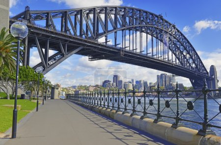 Sydney Harbour Bridge and City Skyline, Sydney Australia