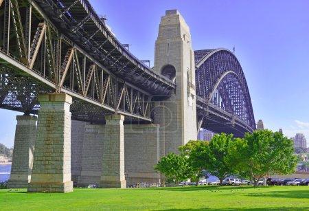 Sydney Harbour Bridge and City Skyline, Sydney Australia