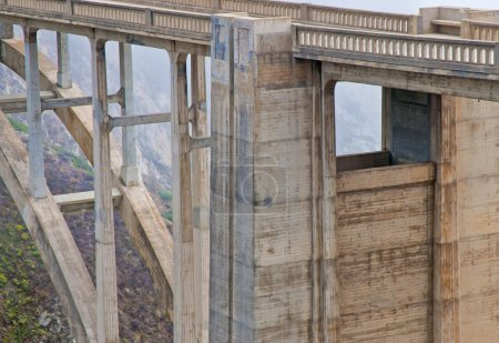 Bixby Bridge, Pacific Coast Highway in Big Sur, California