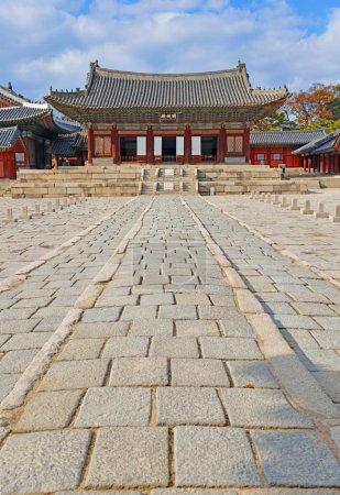 Traditional Architecture in Changgyeonggung Palace, Seoul, South Korea