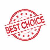 Grunge best choice rubber stamp, vector illustration