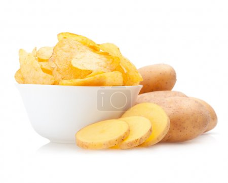 Photo for Potato chips - Royalty Free Image