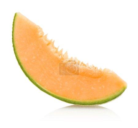 Photo pour Tranche de melon - image libre de droit