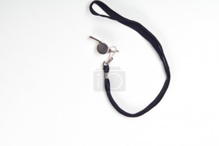 Metal sport whistle