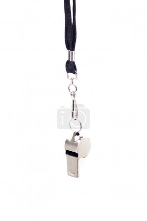Metal sport whistle