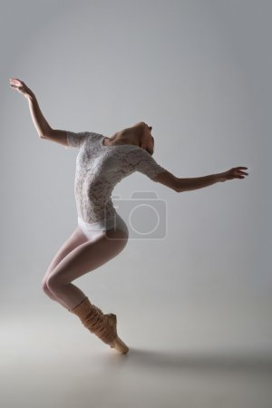 Graceful ballet dancer