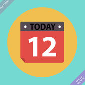 Calendar Icon - vector illustration Flat design