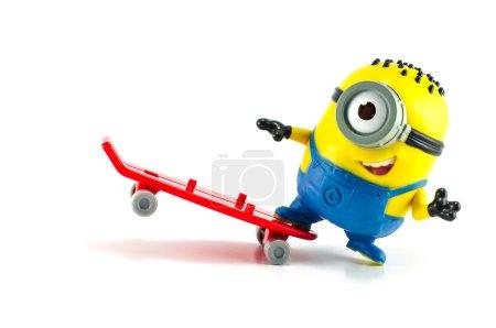 Carl Rocket Minion Mcdonalds happy