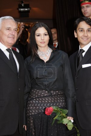 Monica Bellucci in Moscow