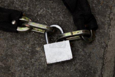 Garage padlock