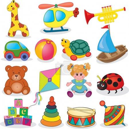 Baby's toys set