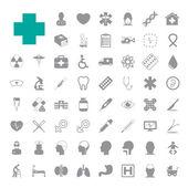 Medical icons set EPS10