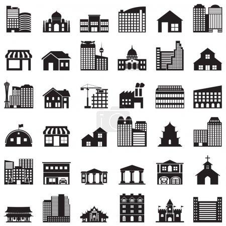 icônes de construction set