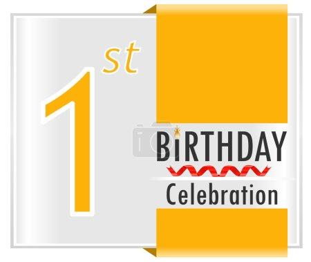 Illustration pour Créé des cartes d'anniversaire - image libre de droit