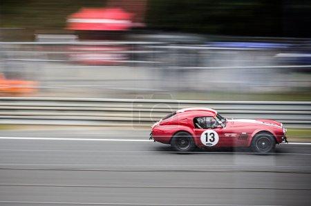 Maserati historic car at Le