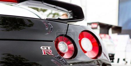 Tail lights on Nissan GTR
