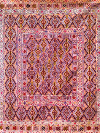 Photo for Traditional Azerbaijani rug - Royalty Free Image