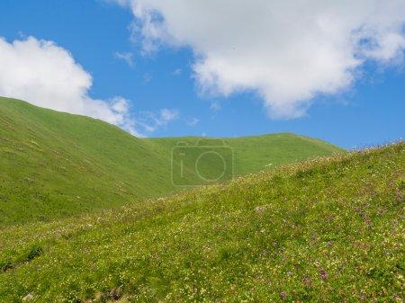 Mountains close to Ushguli village, Caucasus