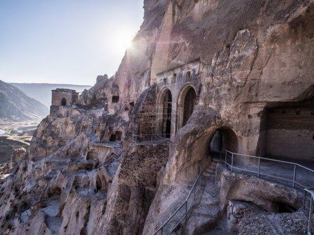 Vardzia cave city-monastery in Georgia