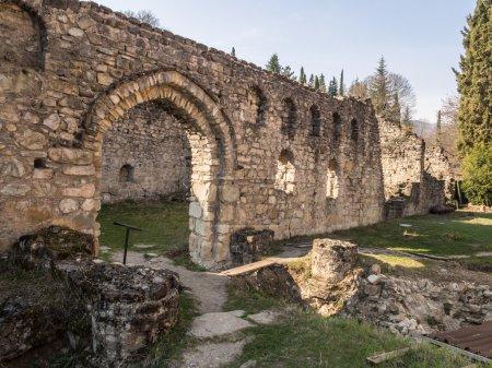 Ruins of the Ikalto Academy next to the Ikalto monastery