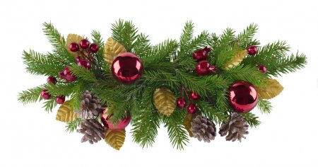 Photo for Christmas and new year decoration element for any kind of design - Royalty Free Image