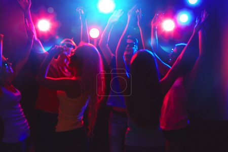 Photo for Young people having fun dancing at party - Royalty Free Image
