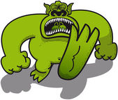 Big green monster
