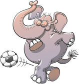 Nice chubby elephant